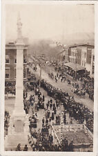 RP: BLOOMSBURG, Pennsylvania, PU-1908; Bull Run Battle Vets Parade (Both sides)