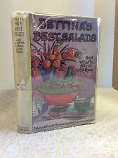 BETTINA'S BEST SALADS By Louise Bennett Weaver & Helen Cowles LeCron, 1923 in dj