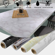 Marble Contact Paper Self Adhesive Wallpaper PVC Kitchen Countertop Granite Deco
