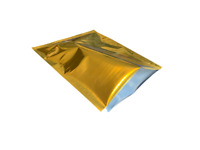 MYLAR GOLD PREPPER BAGS 2 Gallon Bag Food Storage Smell Free  16x20 Made in USA!