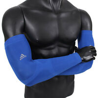 Blue CC Sleeves Adidas Q24734 Compression Covers Arm Band 1pair