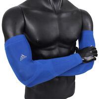 Blue CC Sleeves Adidas Q24734 Compression Covers Arm Band 1pair