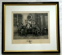 Walter Dendy Sadler & James Dobie Signed - Way of the Sun Antique Etching Framed
