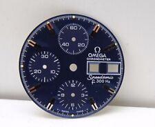Omega  Dial Blue Chronometer Speedsonic f 300 Hz Vintage Ref 188.0002 (O132)