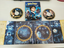 HARRY POTTER Y LA STONE FILOSOFAL 2 X DVD BOX CARTON DROP-DOWN SPAIN ENGLISH