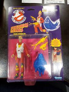 The Real Ghostbusters Screaming Heroes Egon Spengler Squid Squeal Kenner NIB