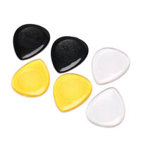 6pcs durable guitar picks for acoustic electric guitar bass clear plectrum OF