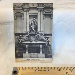 Postcard Italy Florence Cappelle Medicee Lorenzo di Piero de' Medici Tomb