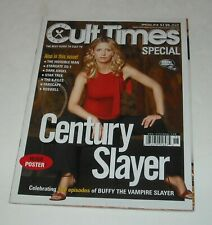 Cult Times Special #18 Magazine Buffy the Vampire Slayer w Poster Dark Angel
