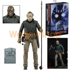 NECA 39714 Ultimate Jason Voorhees Friday The 13th Lives Part VI  7-Inch Action Figure