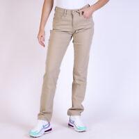 Levi's 505 Straight leg Damen Beige Jeans DE 38 W31 L32