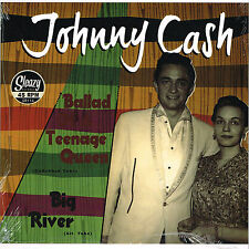 JOHNNY CASH - BIG RIVER (alt) / BALLAD OF A TEENAGE QUEEN (undubbed) ROCKABILLY