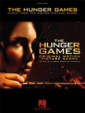 THE HUNGER GAMES Piano Solo Sheet Music Book Film Score Songbook
