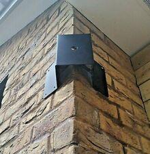Heavy duty CCTV corner mounting bracket - Security Light Bracket - PTZ