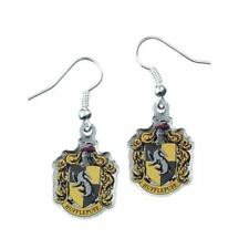 Harry Potter Hufflepuff Crest Earrings From The Carat Shop