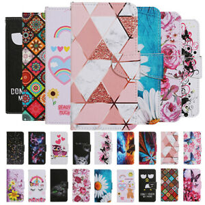 For Xiaomi Redmi 9A 9C Note 9 Case Painted Wallet Flip Card Stand Phone Cover