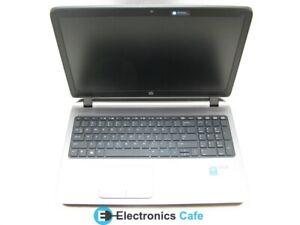 """HP ProBook 450 G2 15.6"""" Laptop 1.7 GHz i3-4005U 4GB RAM (Grade B No Webcam)"""