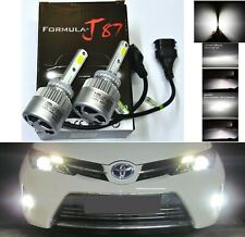 LED Kit N2 72W 898 6000K White Two Bulbs Fog Light Upgrade Replacement Plug Play