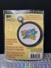 Mary Engelbreit Cross Stitch Kit Flowers Studio 18. Brand New.