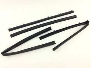 1999-2016 Ford F250 F350 Crew Cab front & rear Lower Door Weather Strip Seal OEM