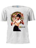 New Bruce Lee ART Trendy T Shirt Men Women Unisex Tshirt London Gift M338