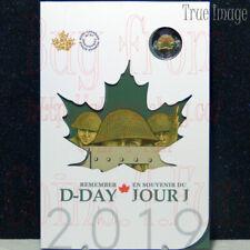 1944-2019 75 Anniversary Normandy Campaign D-Day Juno Beach $2 6-Coin Set Canada