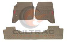 2014-2019 GMC Sierra Genuine GM Front & Rear All Weather Floor Mats Dune