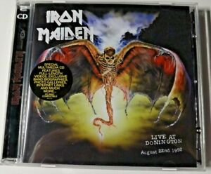 IRON MAIDEN LIVE AT DONINGTON AUGUST 1992 2 CD SPECIAM MULTIMEDIA ROCK M