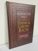 THINK AND GROW RICH by Napoleon Hill ~2012~ HARDCOVER ~ Brand New ~ Bestseller ~