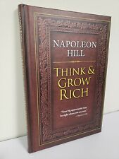 THINK AND GROW RICH by Napoleon Hill ~ HARDCOVER ~ BRAND NEW ~ Bestseller ~