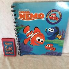 Finding Nemo Story Reader Storybooks Disney And Cartridge Set Reading