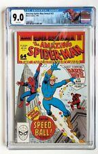 AMAZING SPIDER-MAN ANNUAL #22 CGC 9.0 MARVEL 1988 *1ST SPEEDBALL* +CUSTOM LABEL+
