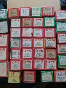 Player Piano Music Rolls Lot of 38