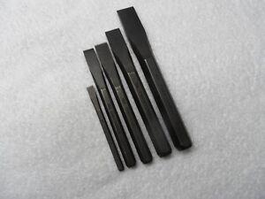Craftsman Chisel Set, made in USA (p/n 42971, 42973 to 42976) - 5 pcs