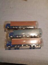 Majorette 1/100 scale Trucks x3 - for parts/repair or code3's