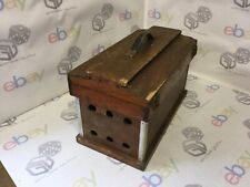 Vintage wooden Bird Carry Box