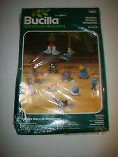 Bucilla Jeweled Stitchery Ornaments Kit 48997 Twelve Days of Christmas