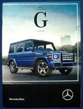 Prospekt brochure 2017 Mercedes G-Class (USA)