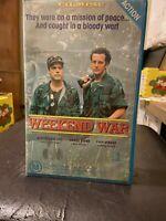 Weekend War Ex-rental VHS video tape cassette HTF action war TV movie no DVD
