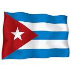 "Cuba Flag car bumper sticker decal 6"" x 4"""