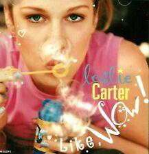 Leslie Carter Like, Wow! FACTORY SEALED AUDIO CASSETTE