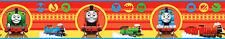 Kinderzimmer Bordüre Thomas und seine Freunde die kleine Lokomotive rot