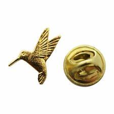 Hummingbird Mini Pin ~ 24K Gold ~ Miniature Lapel Pin