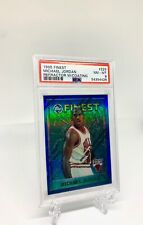 1995 Finest Michael Jordan Refractor w/ Coating #229 - PSA 8! Just Graded!