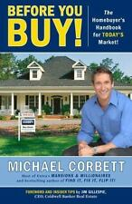 Before You Buy!: The Homebuyer's Handbook for Today's Market-ExLibrary