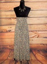 New Women's Lularoe Multi Color Floral Maxi Long Skirt Dress Size XXS ~ W 26