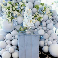 5/10/12/18 inch  DIY Large Big Grey Balloons Round Latex Ballons For Baby Shower