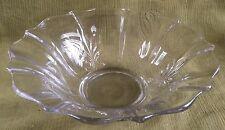 "Fostoria ""Baroque"" Elegant Glass Lg. Console Bowl"