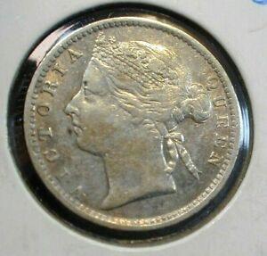 1895 Straits Settlements 10 Cents Silver KM#11  (643)