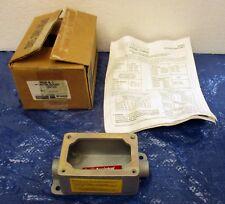 "Appleton Hazardous Location EFDC150-NL-Q 1/2"" Mall Iron Device Body - NIB!!!"